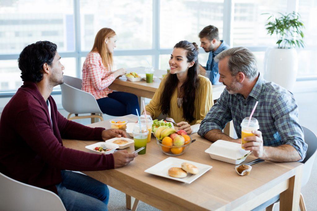 Nutrición en el trabajo: oportunidades para mejorar el bienestar de los empleados