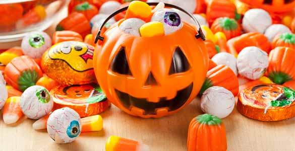 Cómo deshacerse de sus dulces de Halloween