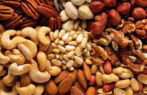 Nutrirse con frutos secos